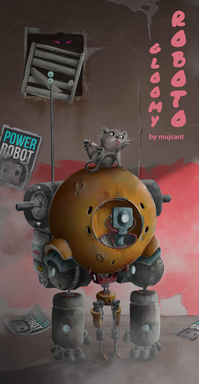 gloomy roboto