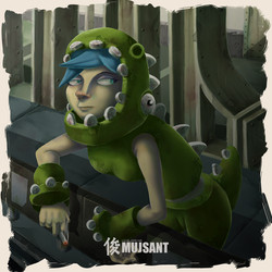 Chica Dinosaurio