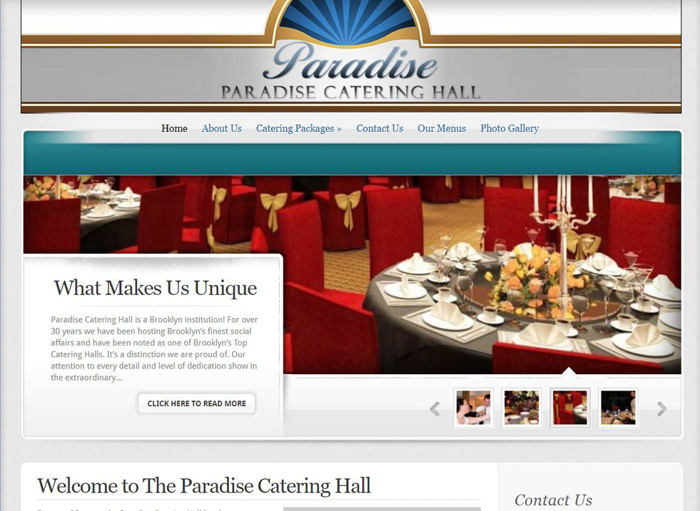 Paradise Catering Hall