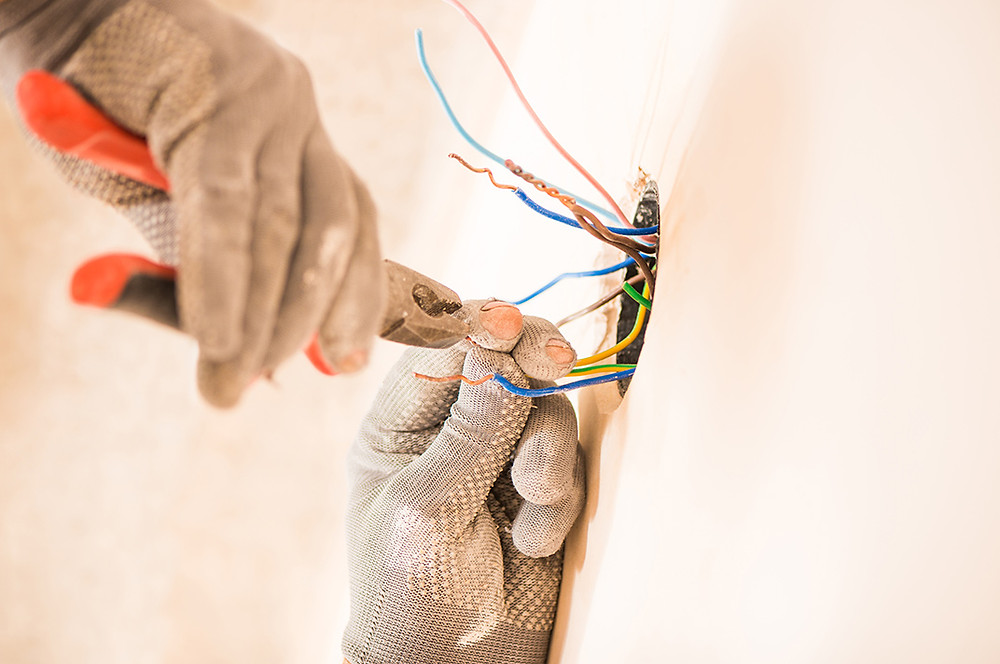 You don't have to tear down your drywall & plaster to rewire a house