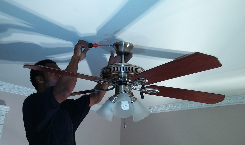Ceiling fan installation prices can range on a number of different factors