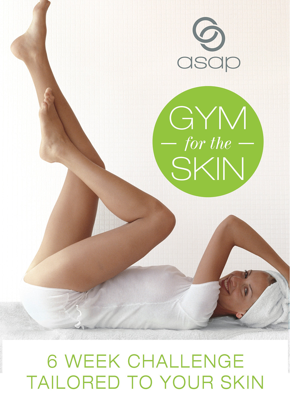 ASAP 6 week skin workout programme is tailored and suited to actively address your specific skin concern