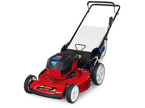 "22"" (56cm) 60V MAX* Electric Battery SMARTSTOW® High Wheel Push Mower (20361)"