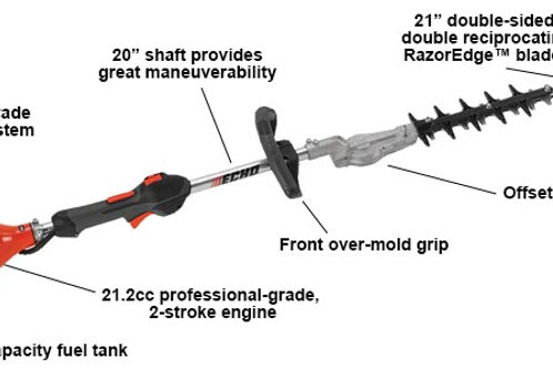 SHC-225S SHAFTED HEDGE TRIMMER