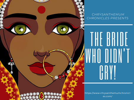 Submissions Are Now Open For #AudioBookProject2 'The Bride Who Didn't Cry'