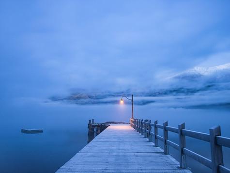 Tomorrow's Deep Blue by Margareth Stewart