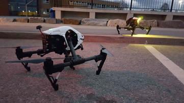 Droneopptak - pre-produksjon