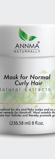 Mask Curly Hair