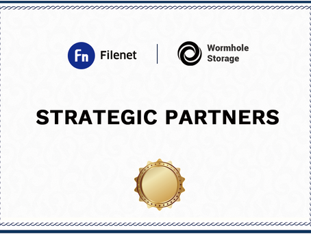The Filenet Foundation and Wormhole Storage have reached a strategic cooperation