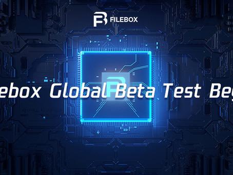 Filebox Global Beta Test Begin