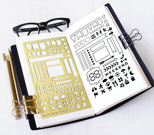 Bullet Journal Stencil - ECLP