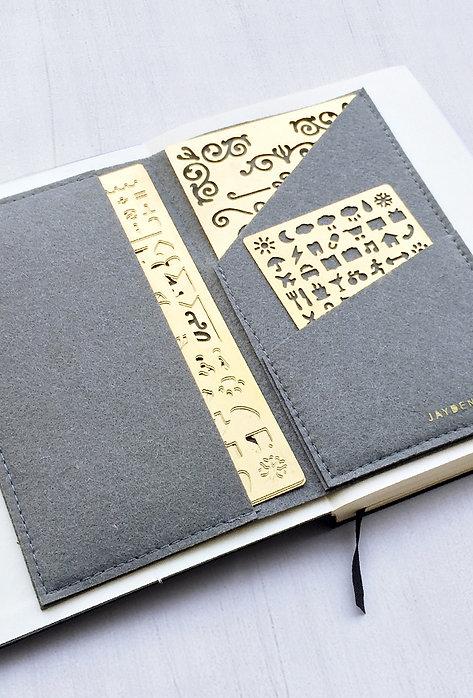 Felt Folder, Felt Case - Traveler Notebook, A5 notebook