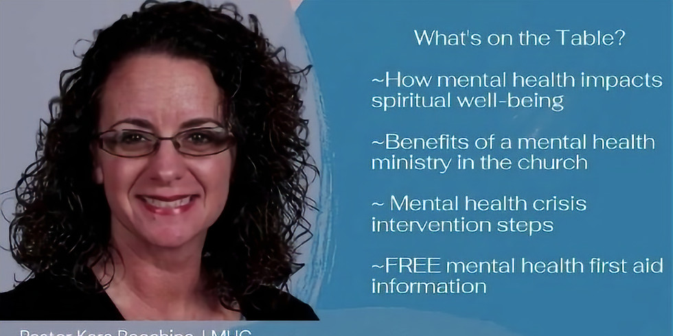 Mental Health and Spiritual Well-being Conversation