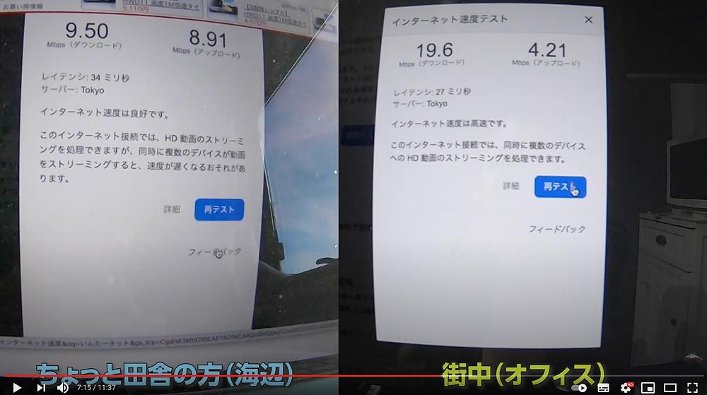 wifi通信速度