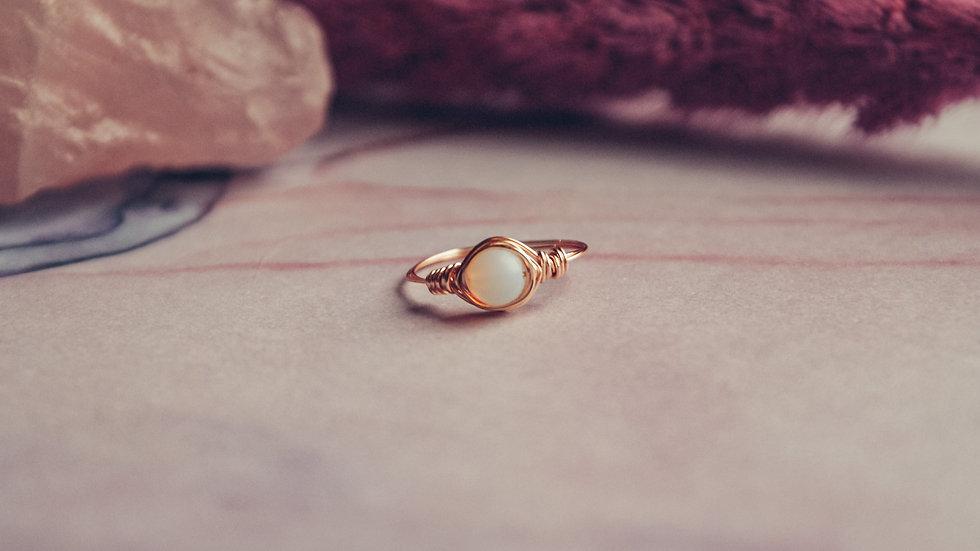 Ring HOSHI - Opaal