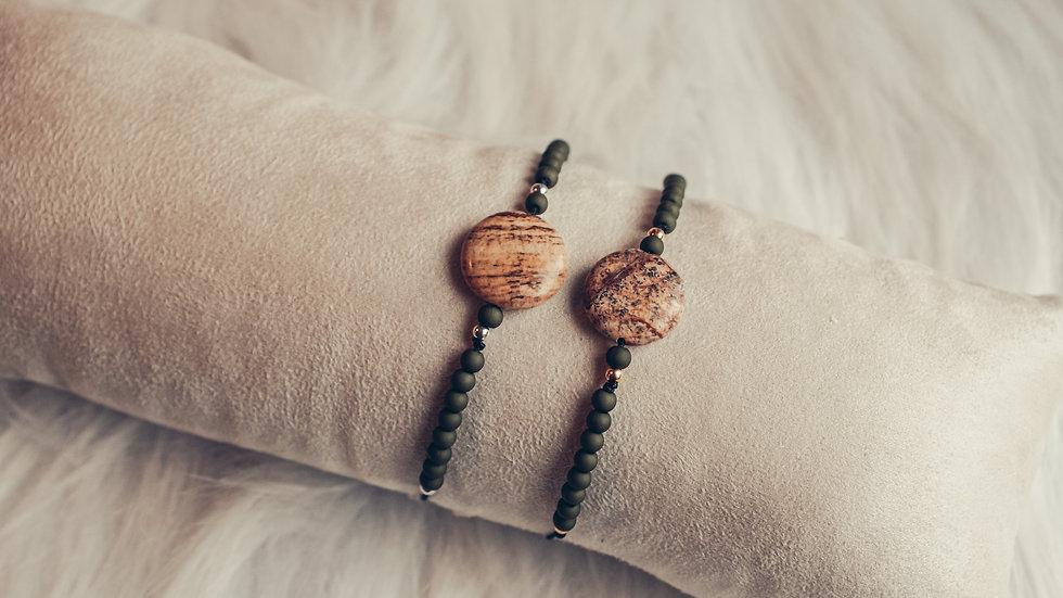 Armband SATOMI - Jaspis