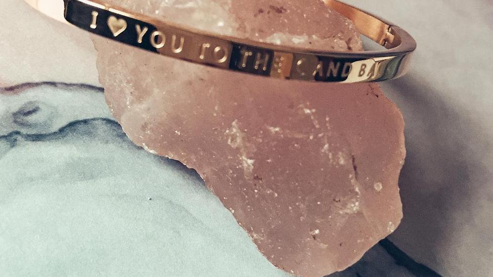 Armband SAYA  - I love you to the moon