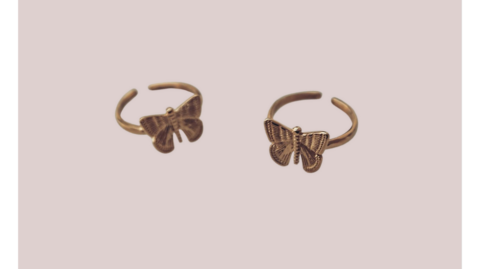 Ring - butterfly love