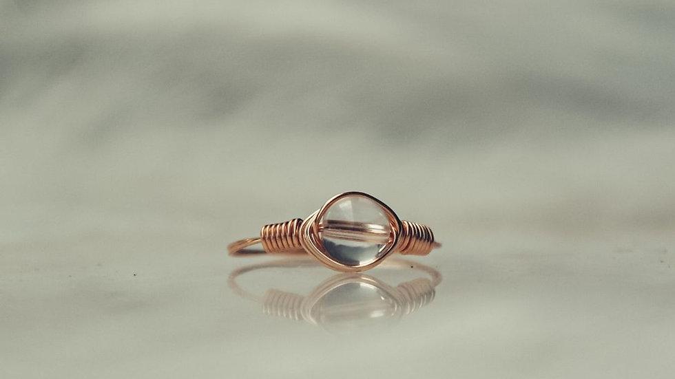 Ring HOSHI - Bergkristal