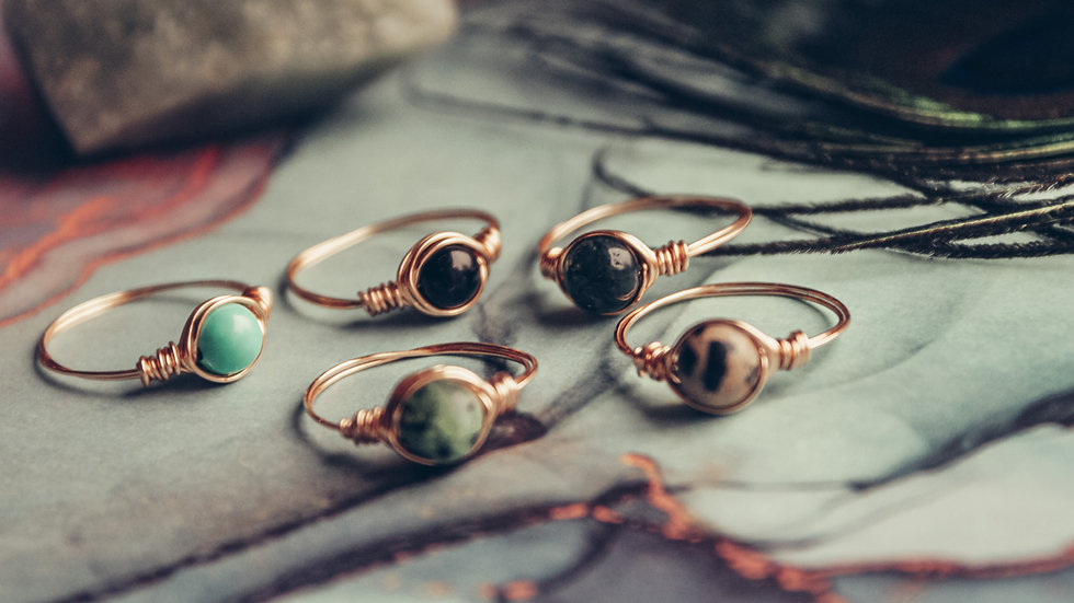 DEAL - edelsteen ringen!