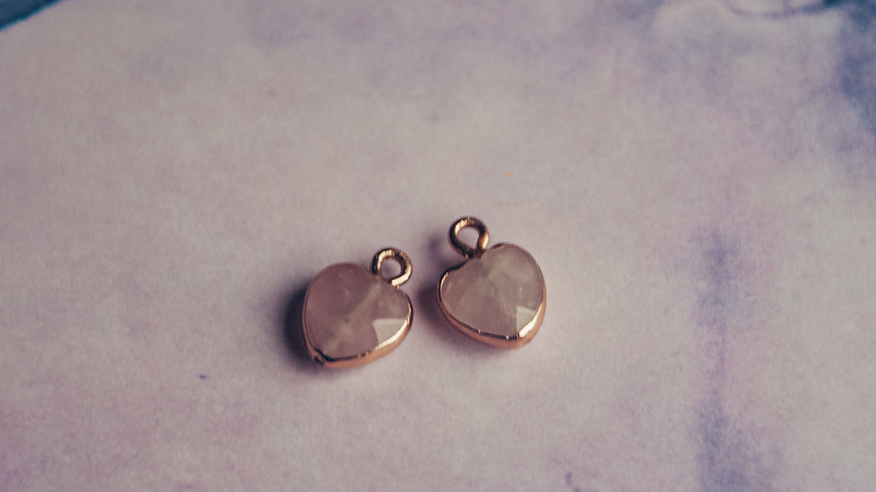 MOMOKO - hanger hart rozenkwarts