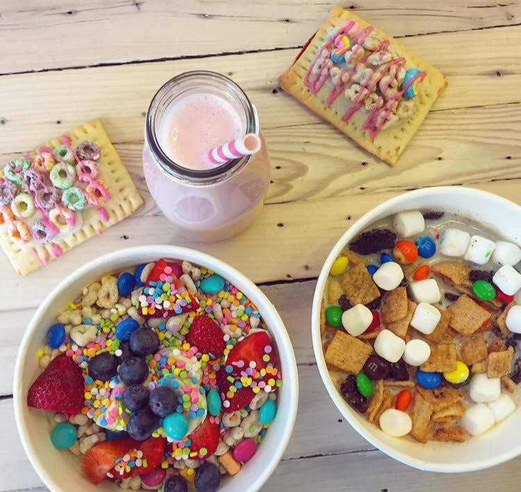 Cereal Box Cafe