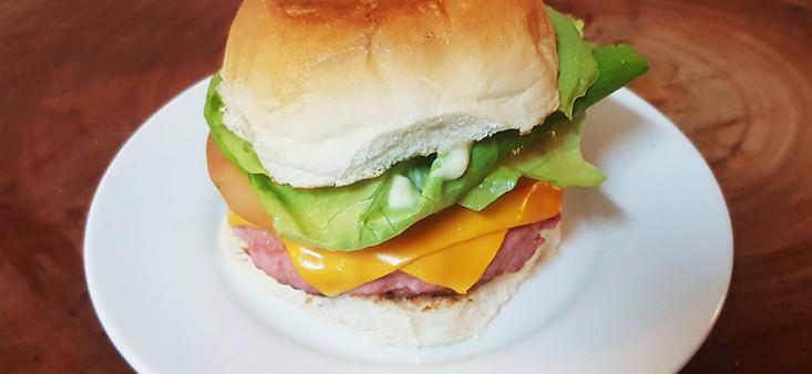 Hambúrguer de Calabresa