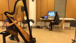 Studio rehearsal of Machinarium