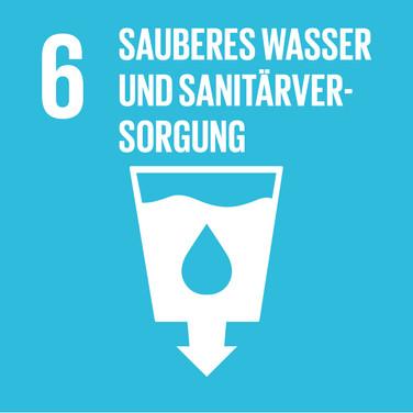 SDG 6 Sauberes Wasser & Sanitärversorgung