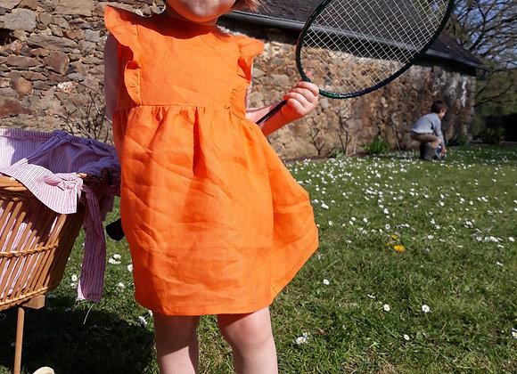 Robe Scarlett orange