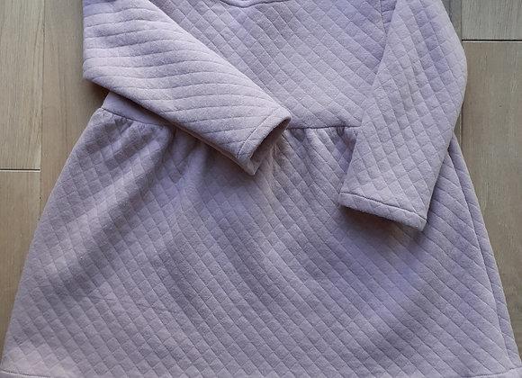 Robe Carmen matelassée nude