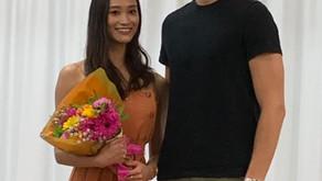 ロイヤルバレエ団♢金子扶生さん&リース・クラークさんのWSに参加したマーメイドMちゃん
