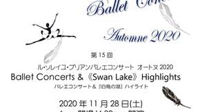 バレエ鑑賞のお誘い♢白鳥の湖ハイライト