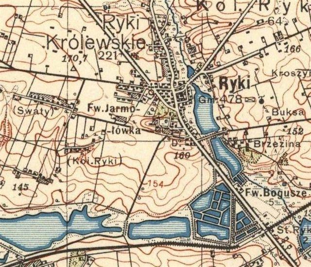 Ryki mapa 1937