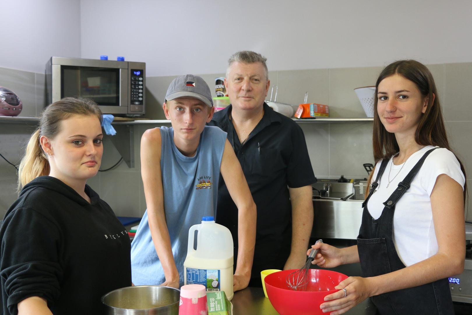 Students Cooking at NG Central
