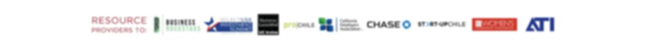 Resource Providers: Business Rockstars, Select USA, UC Irvine, Pro Chile, California Employers Association, Chase Bank, Women's Leadership Conference, ATI