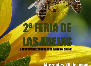 2ª Feria de las abejas y otros polinizadores, aprende de apicultura sostenible.