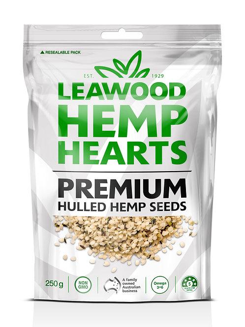 Leawood Premium Hemp Hearts 250g X6