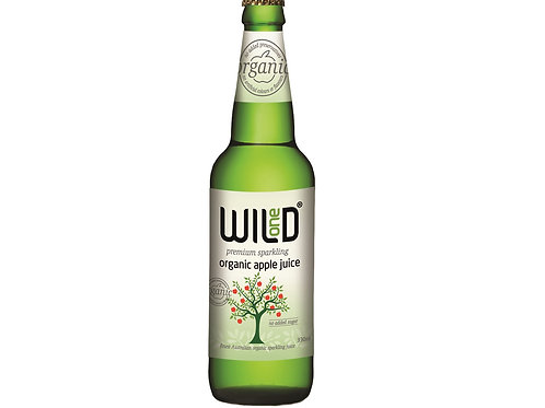Wild 1 Sparkling Organic Apple 330ml