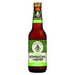 Happy Hippie Organic Kombucha+ HEMP -Cucumber, Melon & Mint 330ml