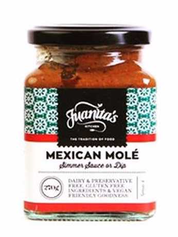 Juanitas Kitchen Mexican Mole