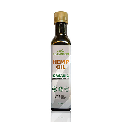 Leawood Organic Hemp Oil 250ml X6