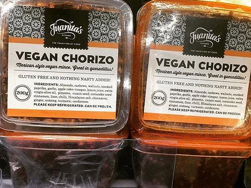 Juanitas Kitchen Vegan Chorizo