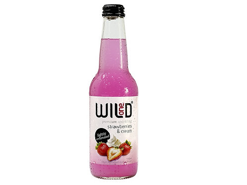 Wild 1 Strawberry & Cream Sparkling 330ml