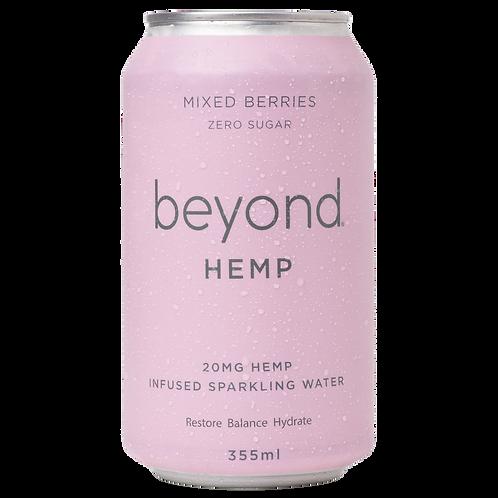 Beyond Hemp Mixed Berry Sparkling