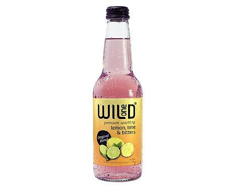 Wild 1 Lemon Lime Bitters Sparkling 330ml