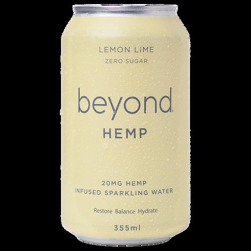Beyond Hemp Lemon Lime Sparkling