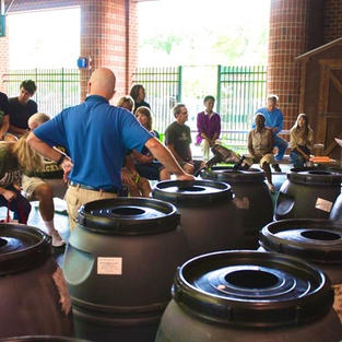 Rain Barrel Workshop at Go Green