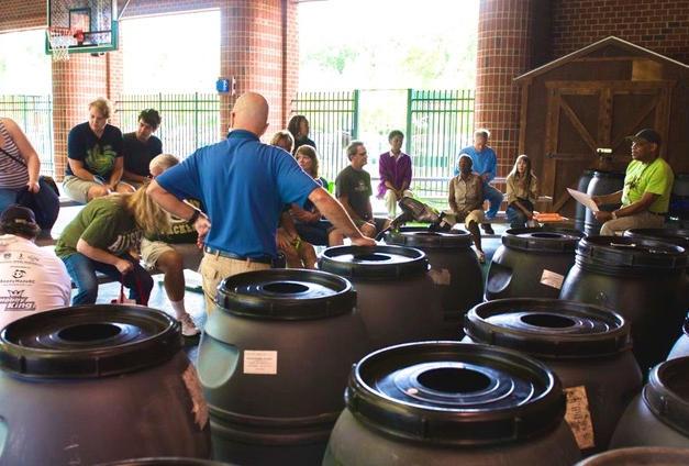 Rain Barrel Workshop at Go Green