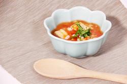 番茄嫩豆包湯